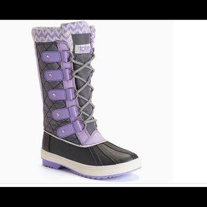 Totes Selena Winter Duck Boots Sz 3